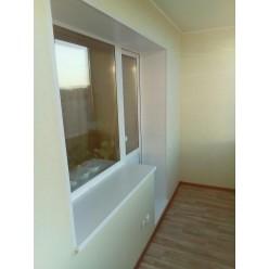Утепление П-образный балкон комфорт